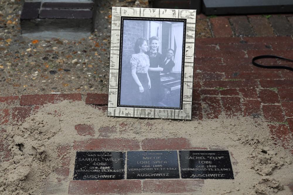 Memorial stone Lobe Family
