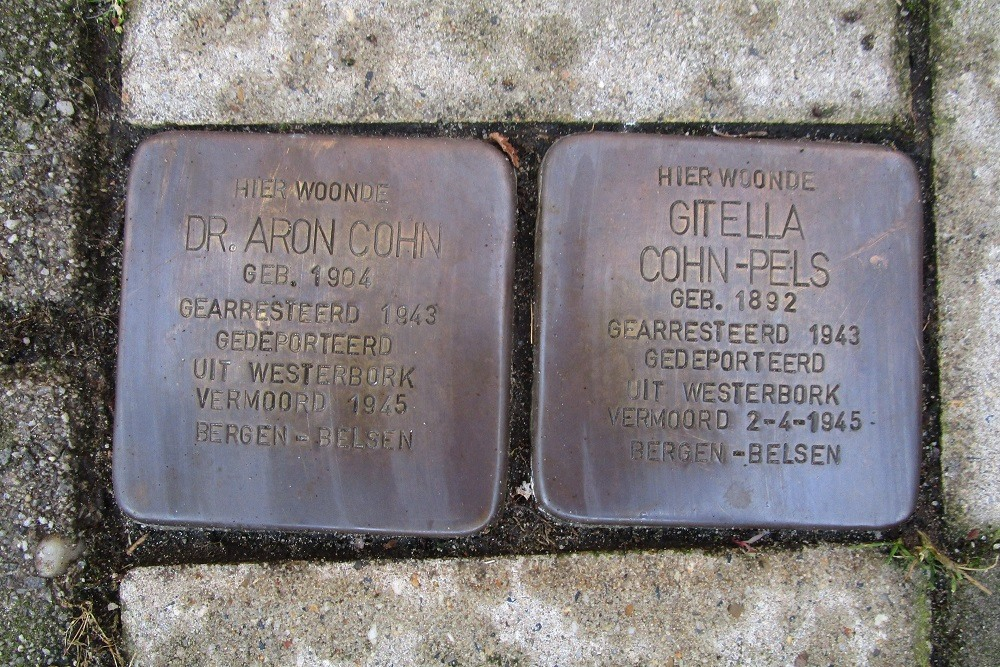Remembrance Stones Leonardostraat 4