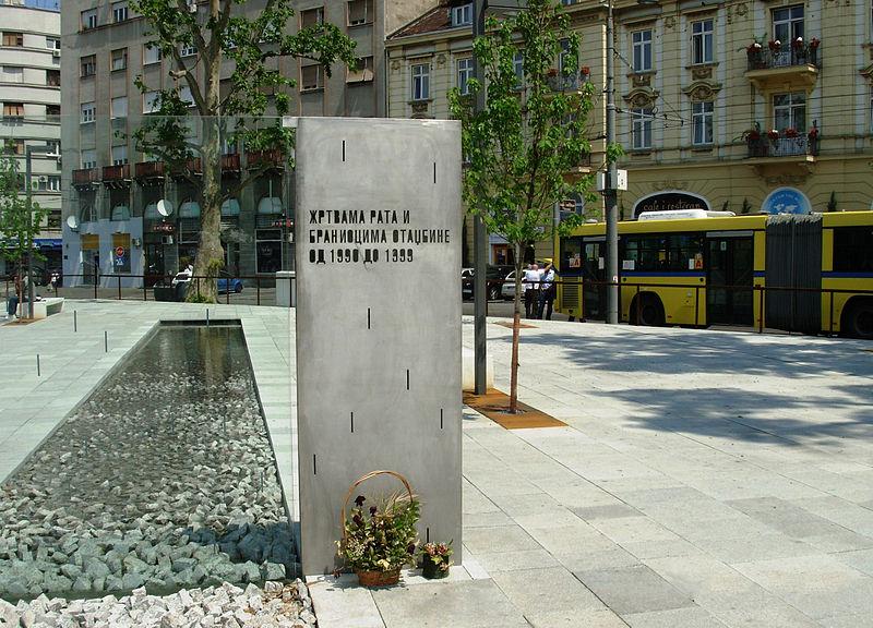 Monument Gesneuvelde Serviërs Belgrado