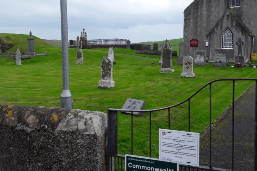 Oorlogsgraven van het Gemenebest Tingwall Parish Churchyard