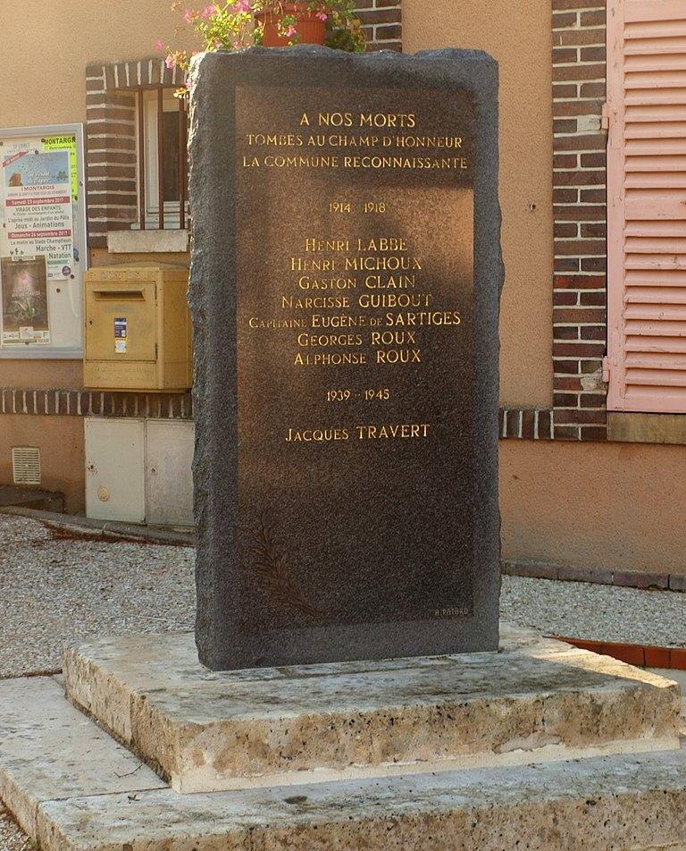 War Memorial Conflans-sur-Loing