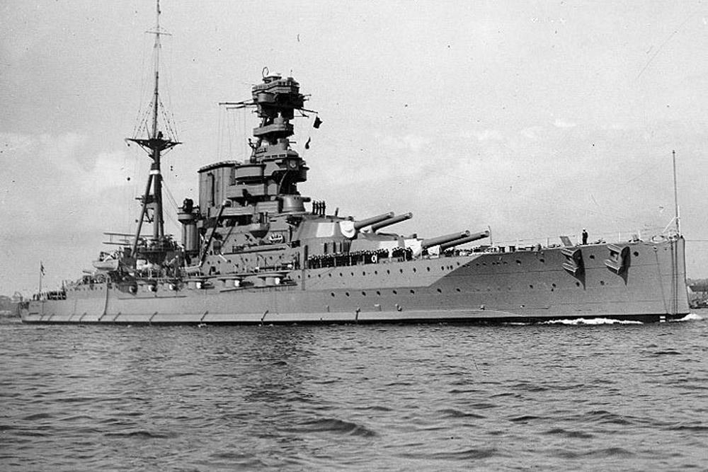 Shipwreck H.M.S. Barham