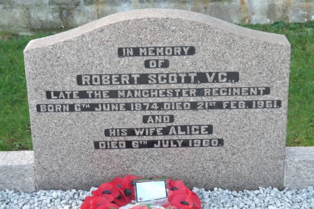 Grave of Robert Scott VC