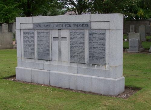 Commonwealth War Graves Allenvale Cemetery