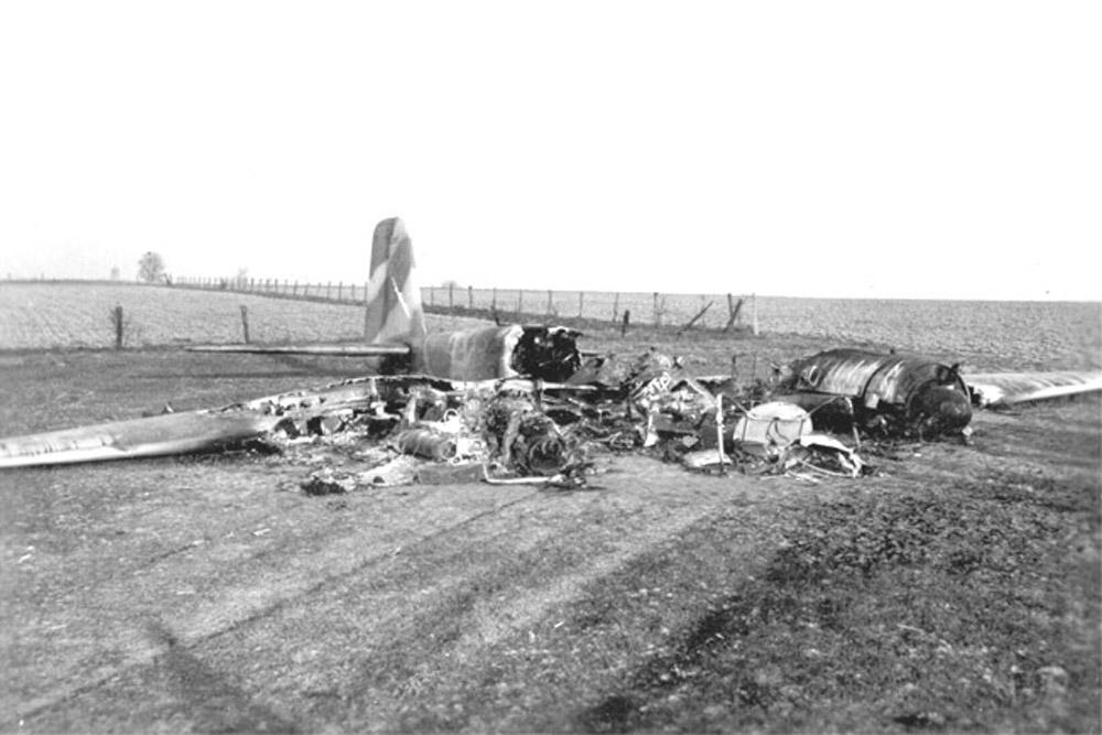Crashlocatie Junkers Ju-88 G-6 W.Nr. 620 517