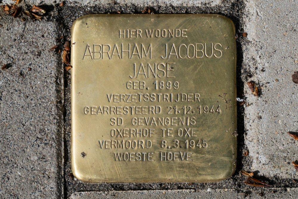 Stolperstein E. Tesschenmacherstraat 43