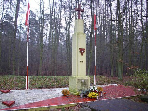 Mass Grave Victims National Socialism Grzebienisko