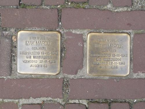 Stolpersteine Boschstraat 72