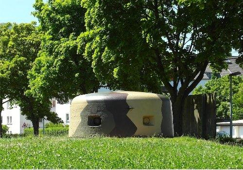Westwall - Regelbau 114SK Bunker Dillingen