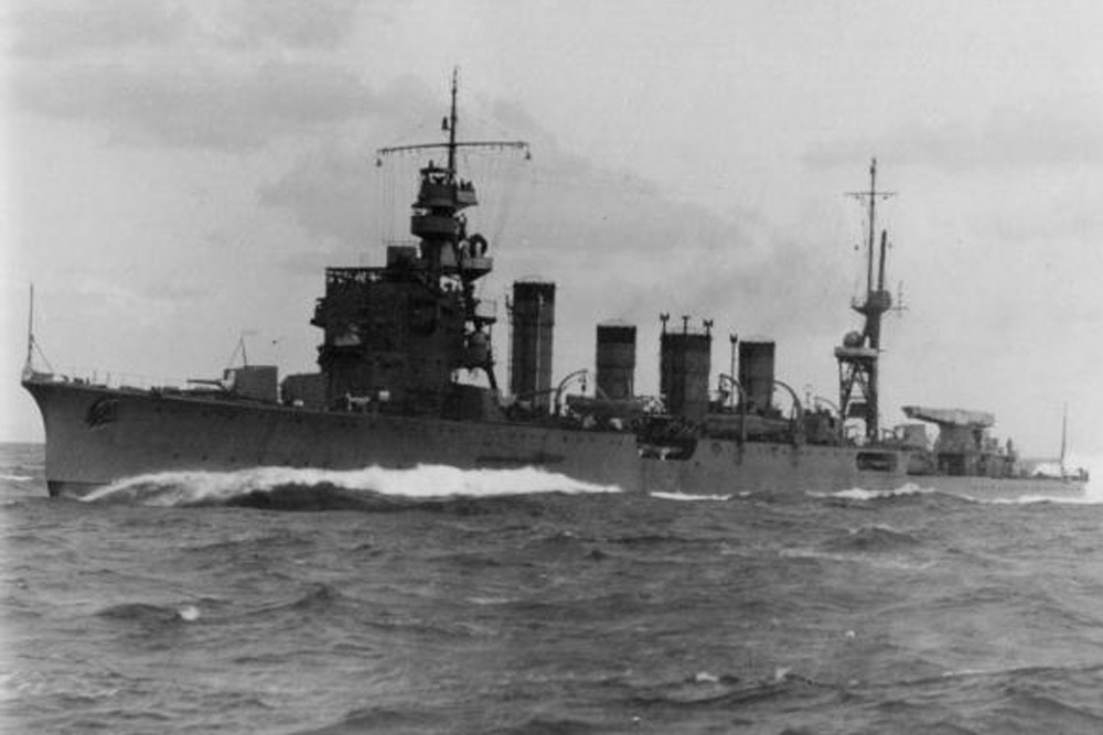 Shipwreck HIJMS Jintsu (神通)