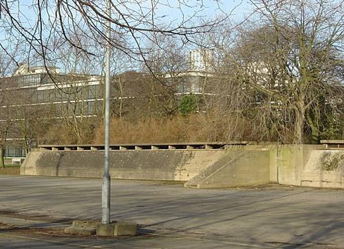 Schuilbunker Fabriek Beeston