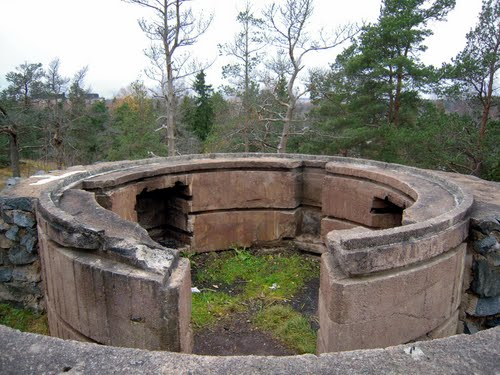 Finnish Anti-Aircraft Battery