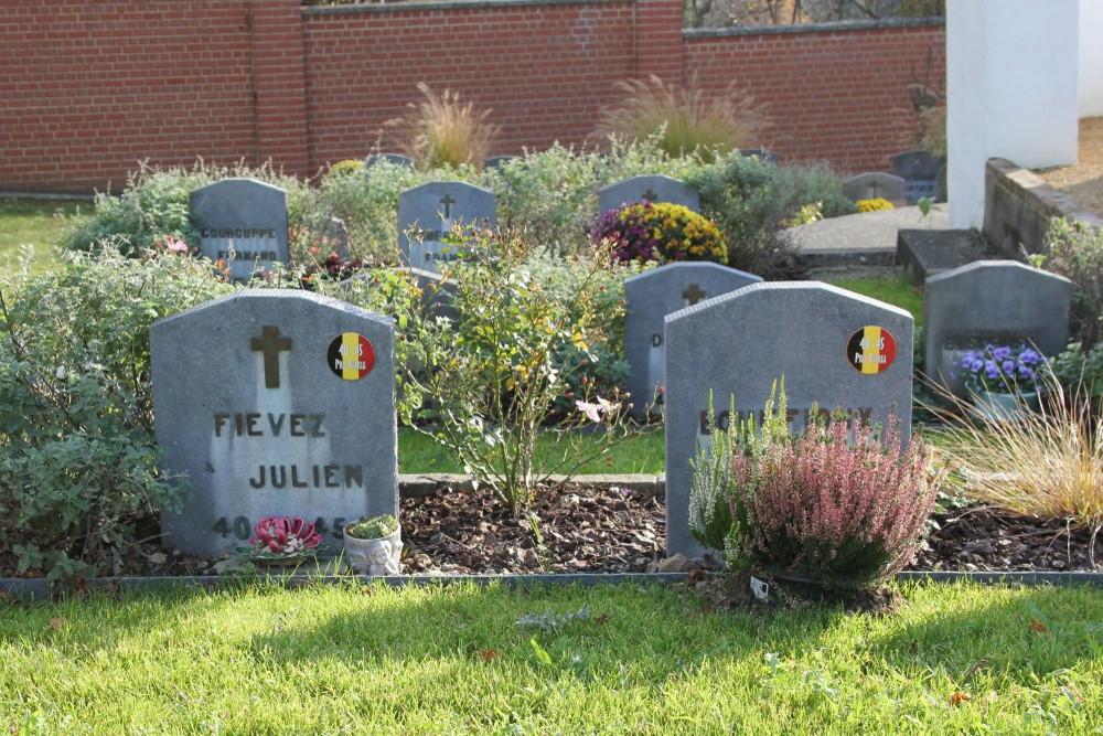 Belgian War Graves Bousval