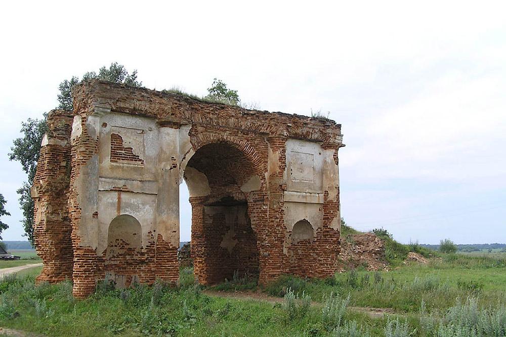 Radziwill Palace Ruins