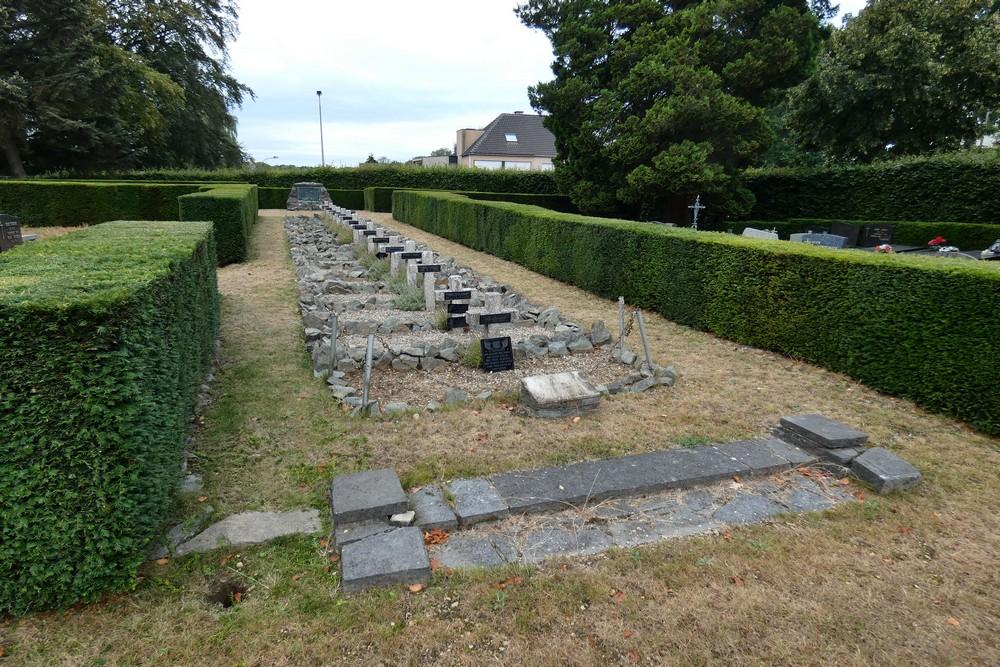 Belgische Oorlogsgraven Maria-ter-Heide