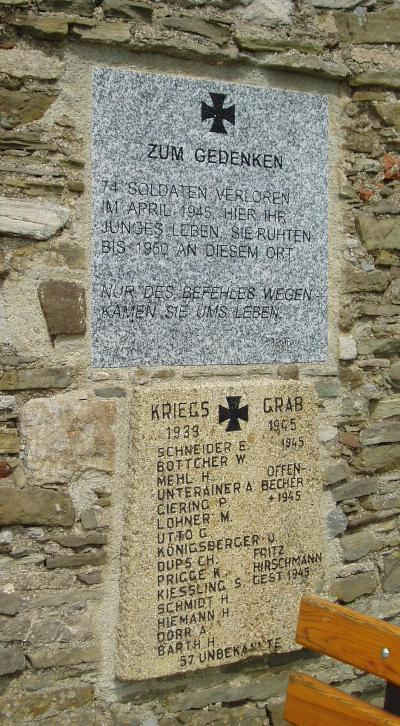 Former Mass Grave German Soldiers Pankraziberg