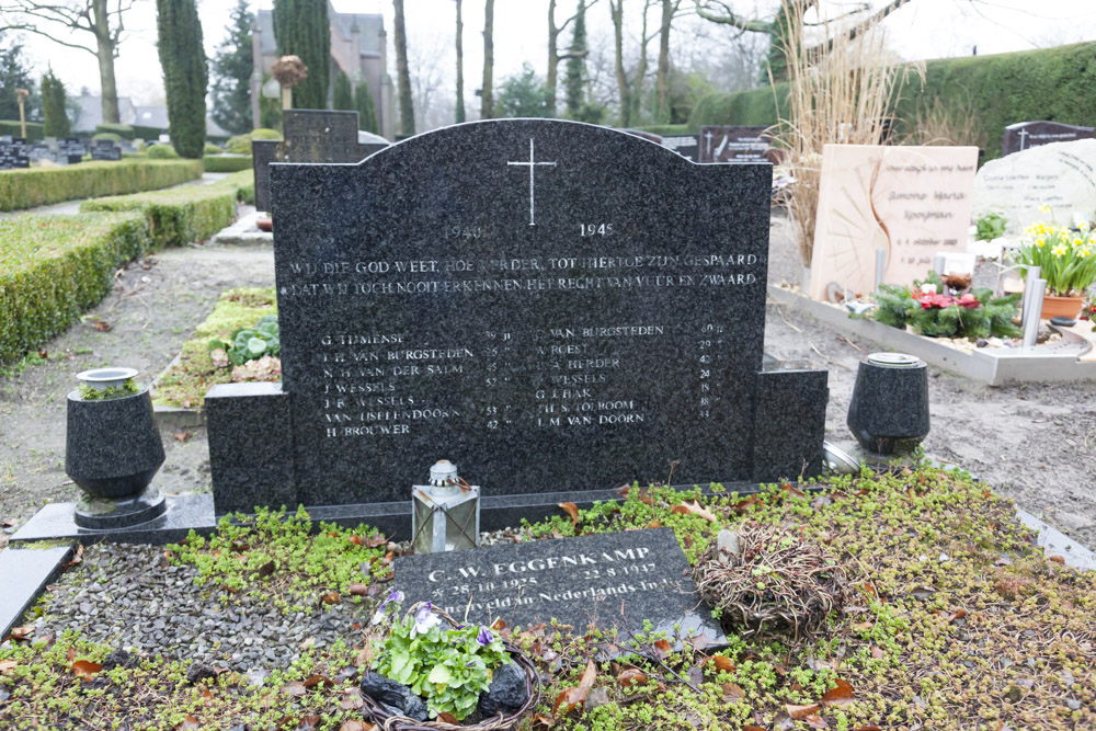 War Memorial Roman Catholic Cemetery St. Joseph Leusden