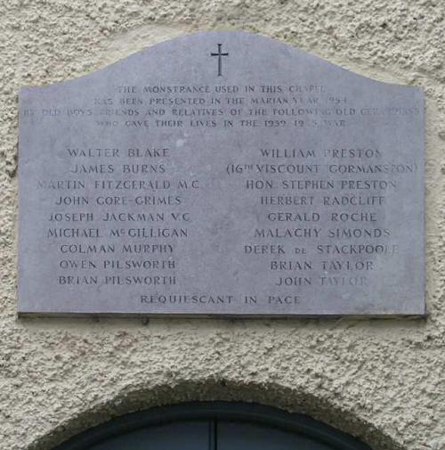 War Memorial St Gerard School