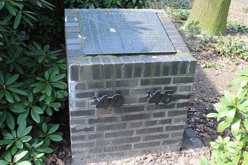 Monument 'Sporen die bleven' Heide