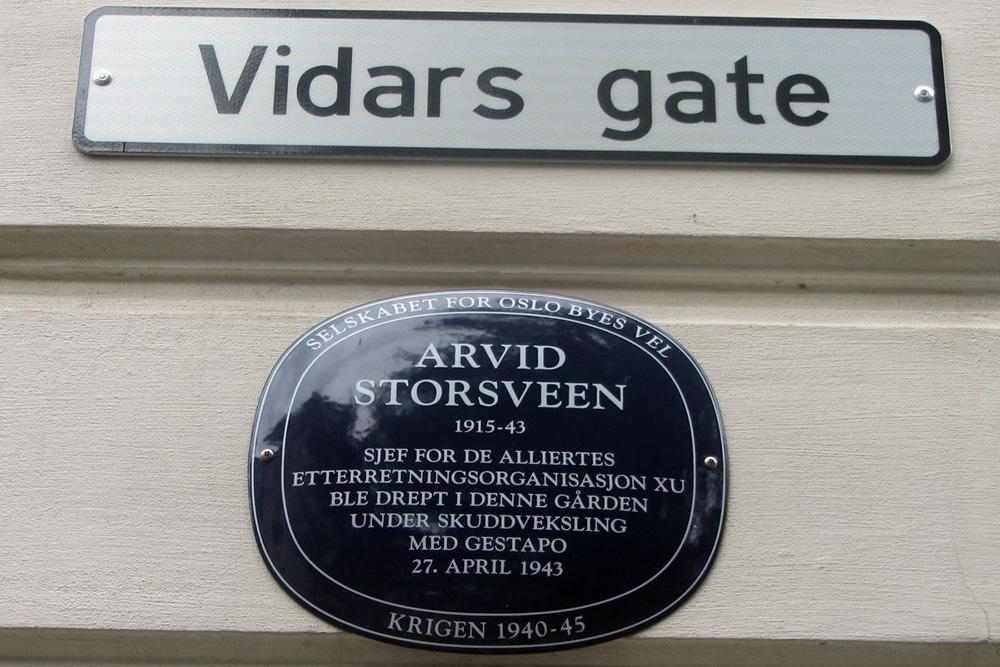 Locatie Aanslag Arvid Storsveen