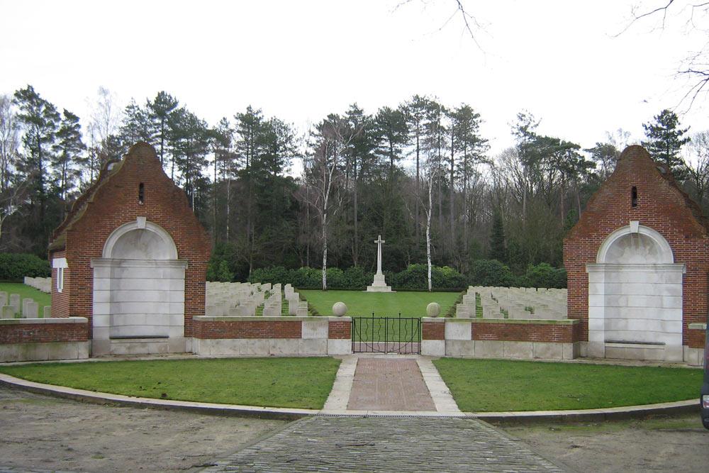 Oorlogsbegraafplaats van het Gemenebest Heverlee
