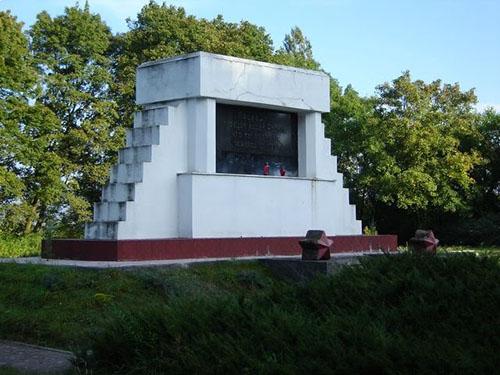 Sovjet Oorlogsbegraafplaats Choszczno
