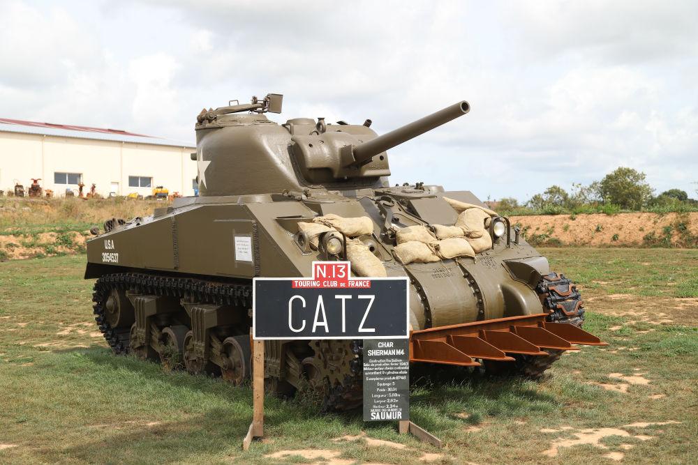 Sherman Tank La Fourchette