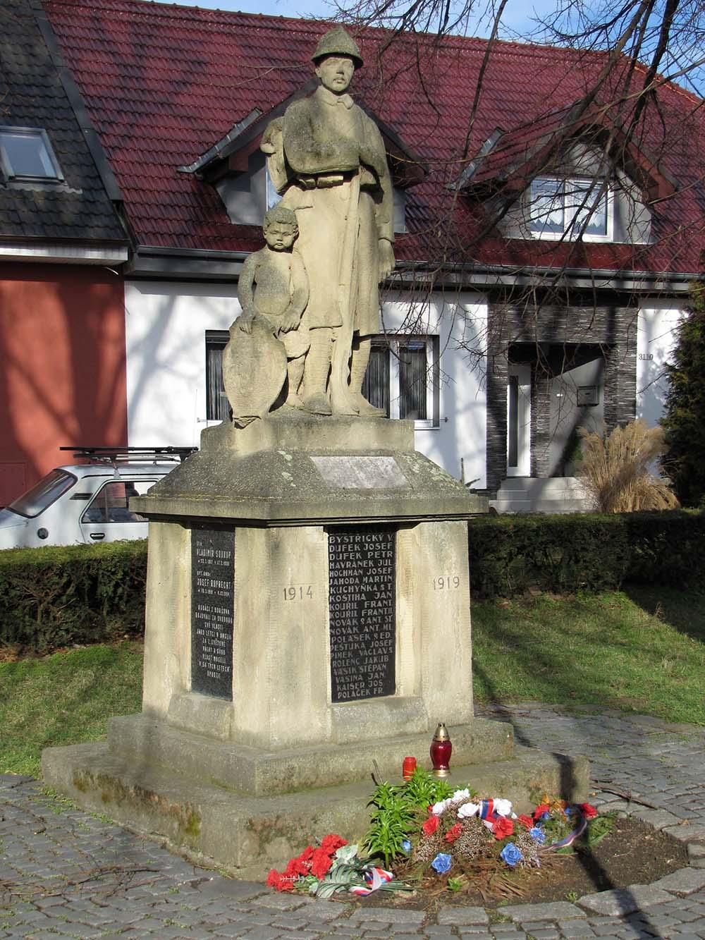 War Memorial Boršov (Kyjov)
