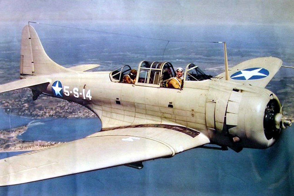 Crash Site SBD-3 Dauntless