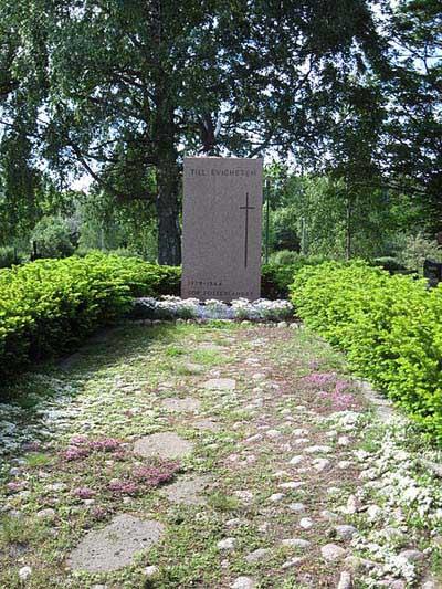 Mass Grave Finnish Soldiers Houtskari