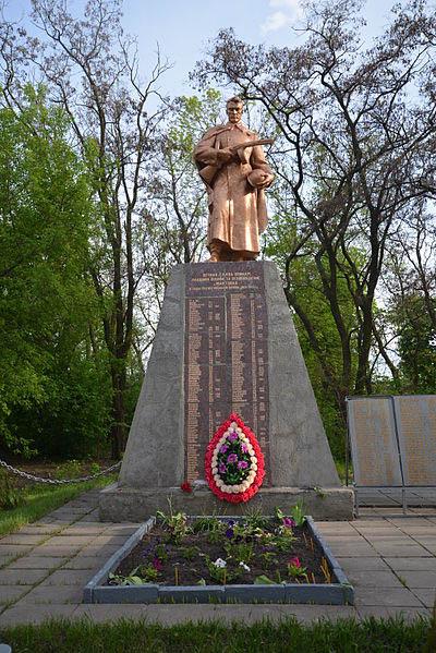 Mass Grave Soviet Soldiers Martove