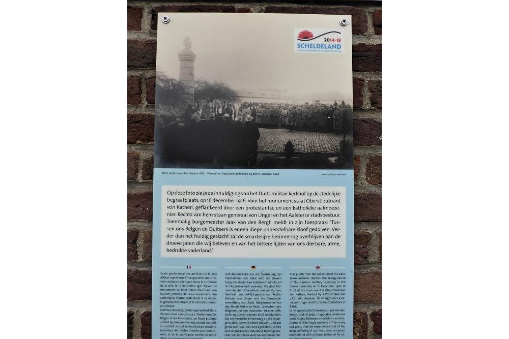 Verdwenen Duitse Oorlogsgraven Aalst