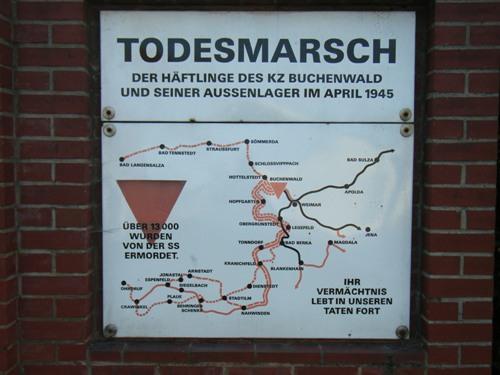 Memorial Death March Buchenwald