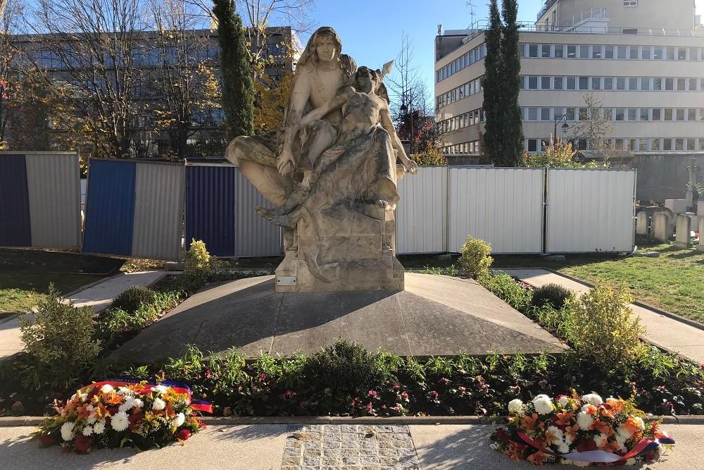 Oorlogsmonument Cimetière de Neuilly-sur-Seine