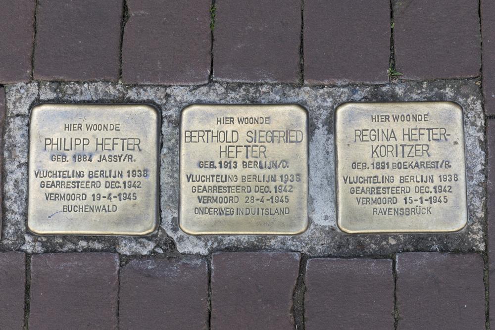 Stumbling Stones Geerstraat 25