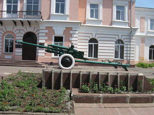 Sovjet 76mm M1942 (ZiS-3) Kanon Kirovohrad