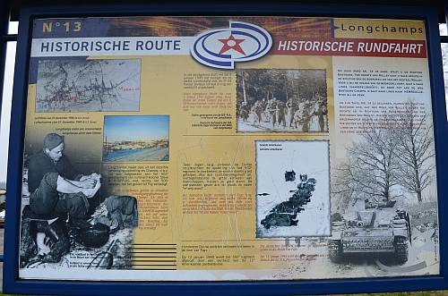Historical Route Bastogne 13