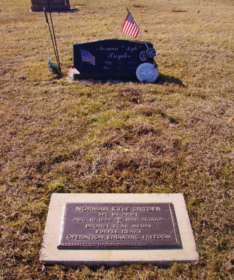 Amerikaans Oorlogsgraf Indian Prairie Baptist Church Cemetery