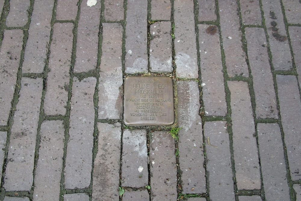 Remembrance Stone Zuiddijk 46a