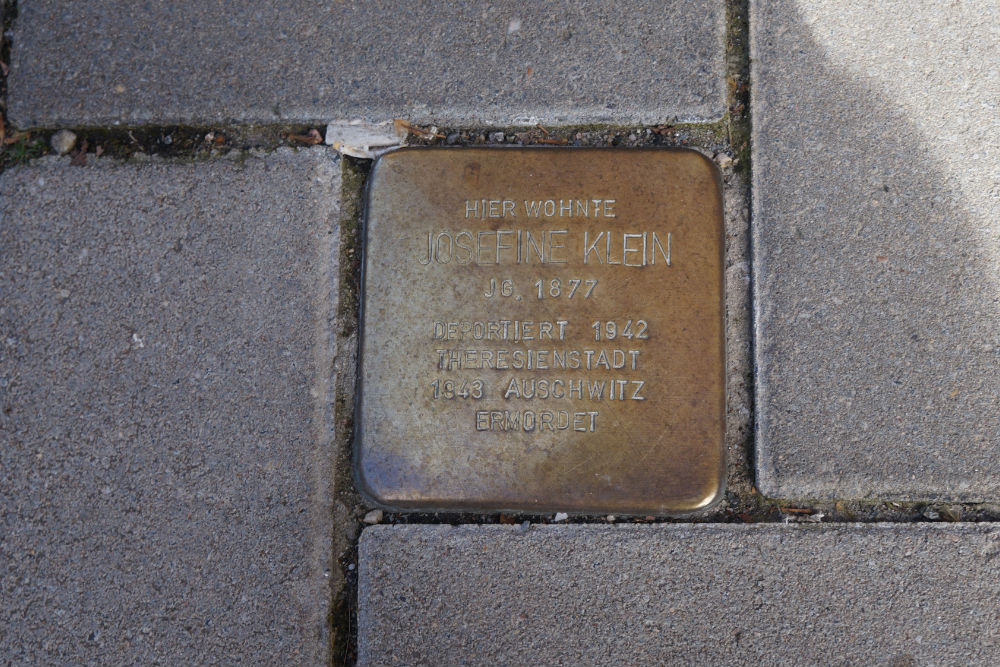 Stolperstein Hagsche Poort 10
