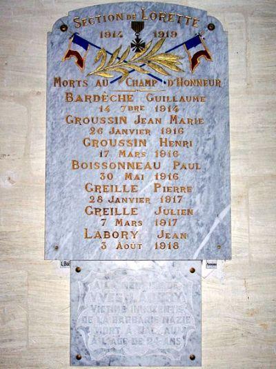 War Memorial Saint-Michel-de-Lapujade
