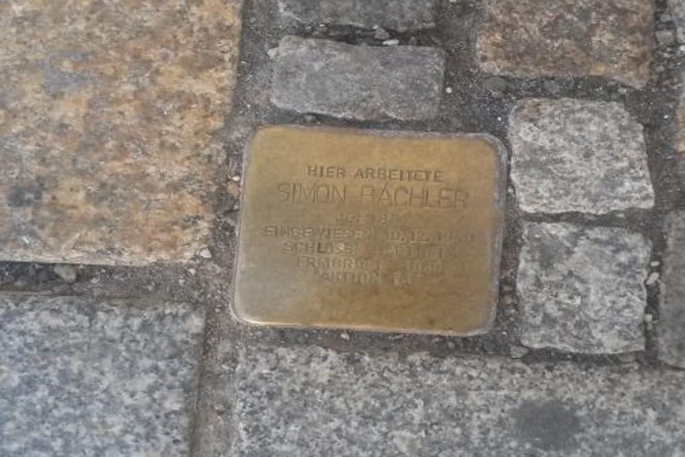 Stumbling Stone Franz-Strickner-Straße 2