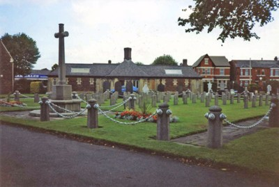 Commonwealth War Graves Warrington Cemetery