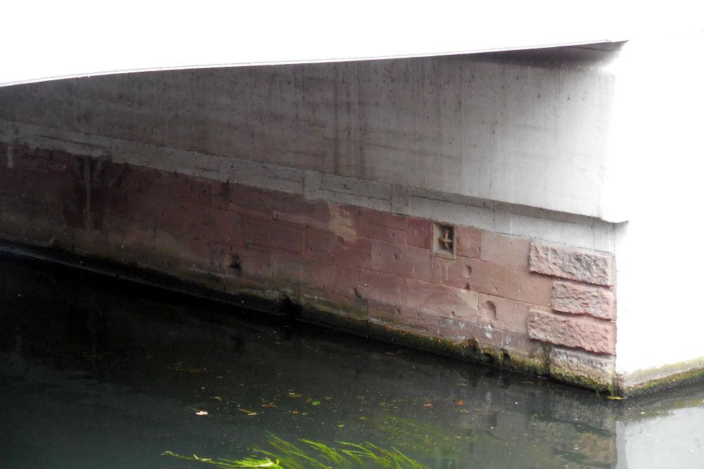 Bomb Impacts Bridge Kleve