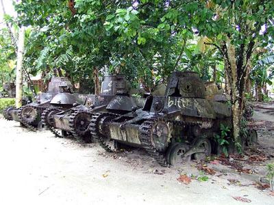 Japanese Tanks Satawan
