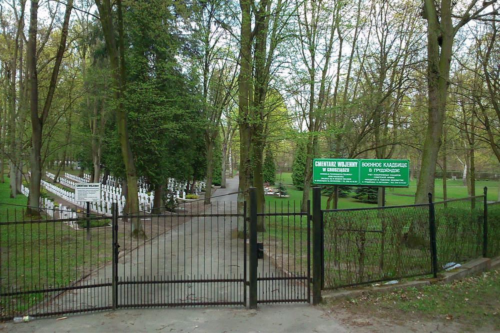 Oorlogsbegraafplaats Grudziadz 1921-1945