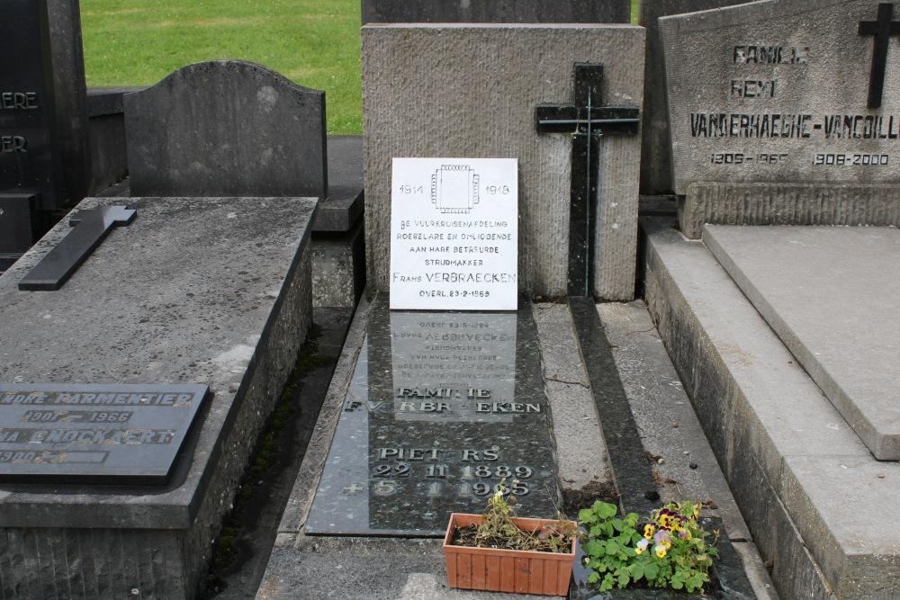 Veteran War Graves Westrozebeke