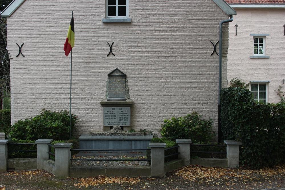 War Memorial Gaillemarde