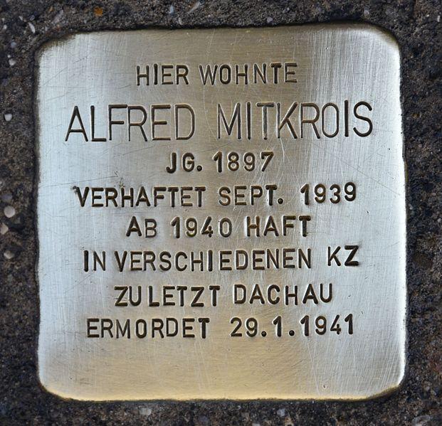 Stolperstein Elisabethstraße 18