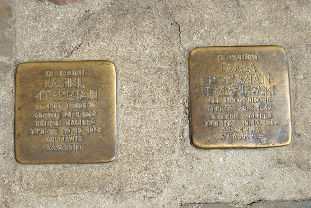 Stumbling Stones Rue des Tanneurs 96